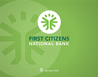 First Citizens National Bank: Tradeshow Display Banner
