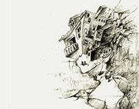 Bruno Schulz short story - Book illustration