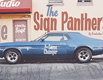 Sign Panthers (PROMOTIONAL PRICE)