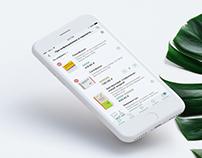 Regional pharmaceutical app UX/UI