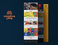 Web Design: CreativeCave