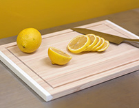 MUJI Cypress Cutting Board