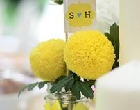 S+H: Wedding Visual Design