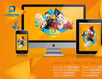 Video.ma Logo & Branding