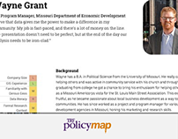 PolicyMap User Research - 2015
