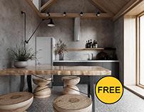 FREE Model Kitchen 199
