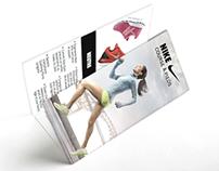 Nike pamphlet giveaway