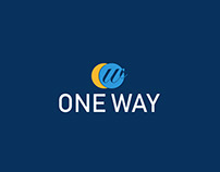 ONE WAY Logo Design