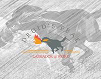 Logo - Druid's Peak | Labrador @ Work