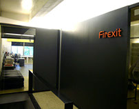 FIREXIT office interior design