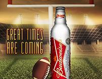 Budwieser Alumínio: Super Bowl - Empório da Cerveja