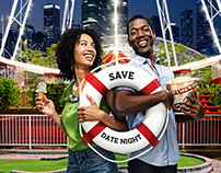 "Navy Pier - ""Save"" campaign"