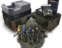 Halo Reach Legendary & Limited Collectors Editions
