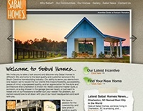 Sabal Homes Website