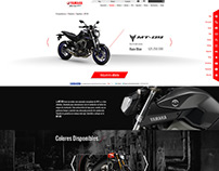 Incolmotos Yamaha Motorcycles product page