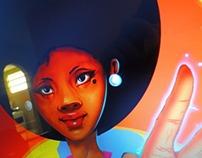 Black Power Girl