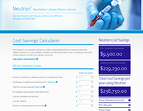 Neutron Cost Savings Calculator