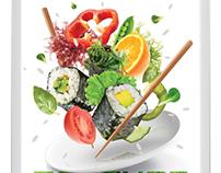 Vegetarian menu TANUKI 2012