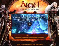 Aion Assault of Balaurea Landing Page