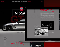 Nissan GTR Homepage Concept