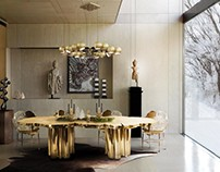 25 Charming And Contemporary Dining Rooms