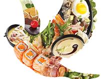 New menu TANUKI spring 2012