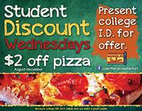 Student Discount Wednesdays