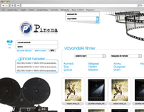 Pinema - Website Design.