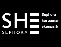 Sephora - Logo & Catalog Design