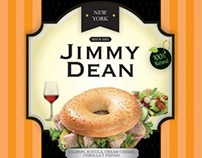 Jimmy Dean. Packaging design.