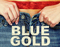 Blue Gold Film Key Art Design