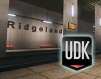 UDK subway level (personal project)