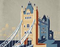 Postcards of London