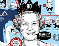 Queen Elizabeth II - Arte Magazin 04/16