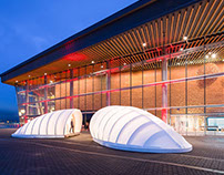 """Elevate"" Structures for TED 2016 Vancouver"