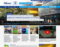 FIRJAN - Redesign (portal)