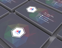 FlyMe Business Card - Free PSD