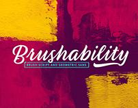 Brushability Font Family