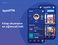 Okuvaryum Mobile APP UX/UI Design