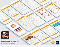 Food Mad App UI Kit