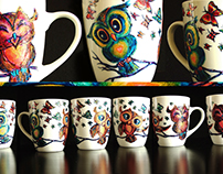 Free Hand-painted cups and more