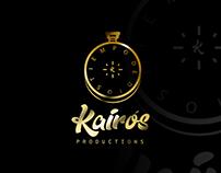 KAIRÓS PRODUCTIONS - LOGOTYPE @SONGARTWORK