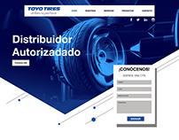 DISEÑO SITIO WEB TOYO TIRES