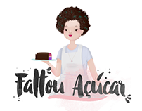 Novas artes do blog - Faltou Açúcar