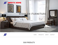 Sweety Home Modern Furniture Website