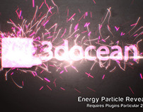 Energy Particle Reveal After Effects Template