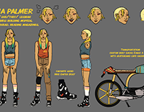 Original Character Designs & Works
