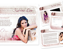 Website design, Katrina Law