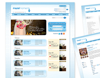 Website design, Mazelmoments