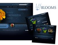 Website and logo design, LDF Blooms